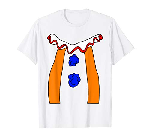 Clown Costume T-Shirt | Perfect Scary Clown Halloween