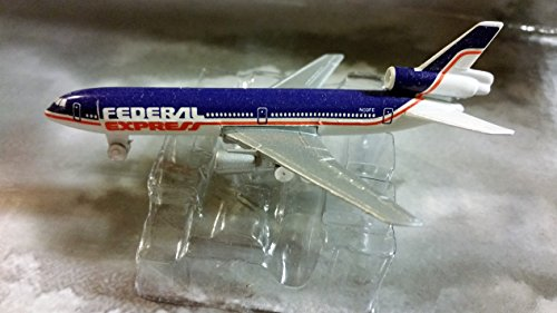 Fed Ex McDonnell Douglas DC-10 Jet Plane 1:600 Scale Die-cast Plane Made in Germany by Schabak ()