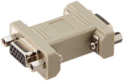 - C2G 02751 HD15 F/F VGA Gender Changer/Coupler, Beige