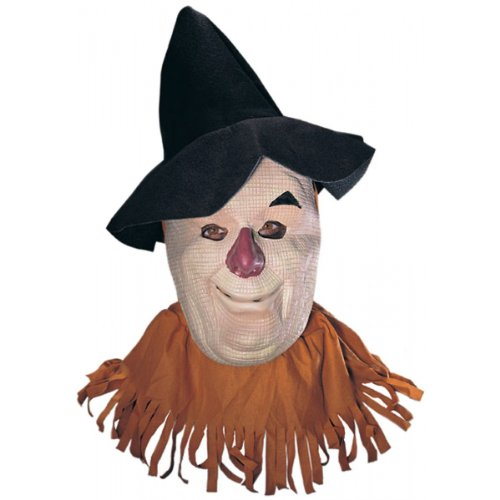 Wizard Of Oz Scarecrow Mask, Tan, - Masks Oz Wizard Man Of