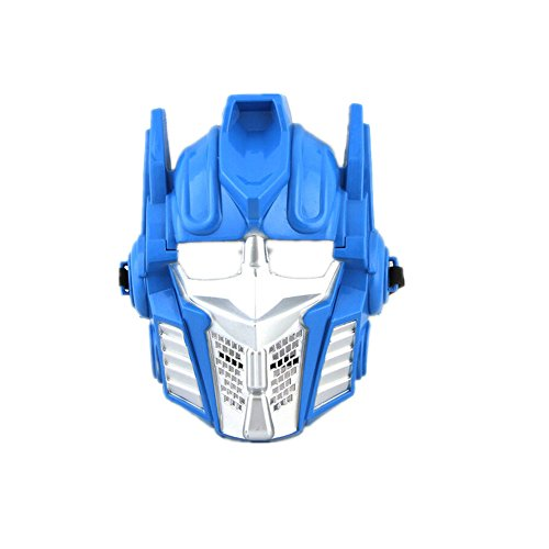 Luk Oil Halloween Children's Masks Hornet Transformers Mask for Boys (Blue Optimus Prime)