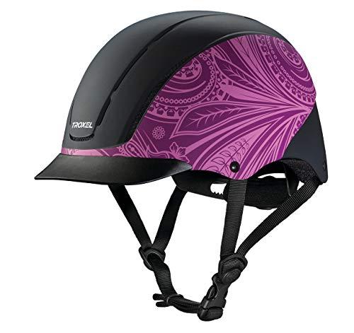 Troxel Spirit Performance Helmet, Purple Boho, ()