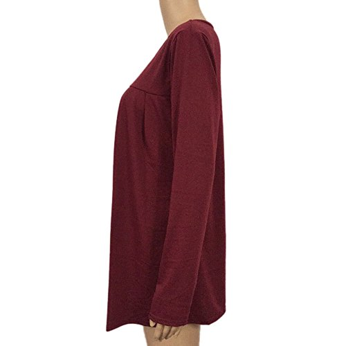 Shirt Longues Manches T Kangrunmys E3201253 Chemisier B pour Femmes xnRqIUIT
