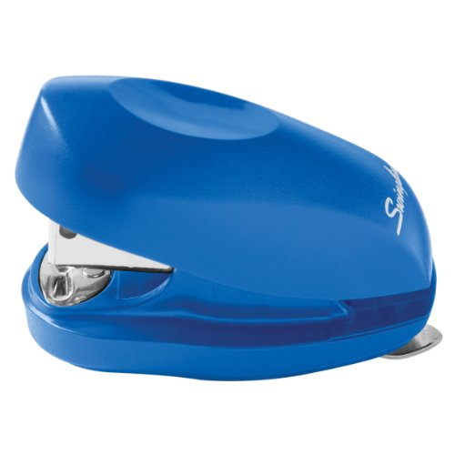 Swingline Tot Stapler with Built-In Staple Remover, Pre-Packed with 1000 Swingline Standard Staples, Blue (S7079172)