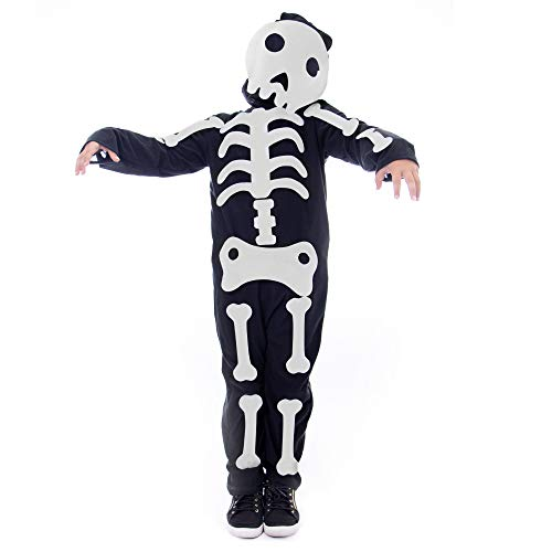 Boo! Inc. Make Your Own Skeleton Halloween Costume | Moveable Bones -