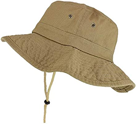 Trendy Apparel Shop XXL Oversize Large Brim 100/% Cotton Outdoor Boonie Hat