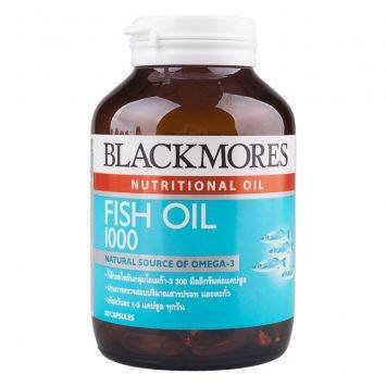 Blackmores fish oil 1000 mg 80 capsules buy online in for Fish oil reviews