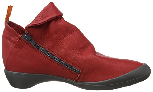 red Farah Donna 546 Stivali Rosso Softinos w6Baqxz4p