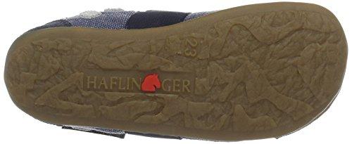 Haflinger 489031, Pantuflas Niños Azul (ocean)