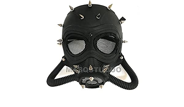 Disfraz de Halloween cosplay Viste Fiesta Mascarada Máscara de gas Steampunk: Amazon.es: Hogar