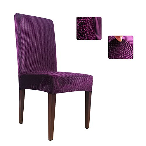 Purple Kitchen Chairs: OurWarm Dining Chair Covers And Protector