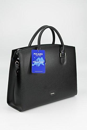 Picard - Bolso de asas para mujer Negro negro