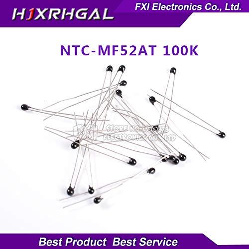 Value-Trade-Inc - 100pcs -mf52at thermistor temperature sensor thermistor 100k MF52AT 3950 100 k ohm 3950 1% -100k/3950