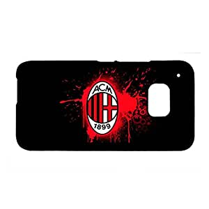Protective Phone Cases For Guys For Htc One M9 Custom Design With Ac Milan Choose Design 7