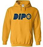 PROSPECT SHIRTS Gold Indiana Oladipo Dipo Hooded Sweatshirt