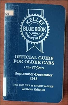 Blue Book Truck Value >> Kelley Blue Book Official Guide For Older Cars 1993 2006