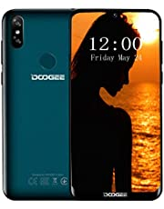 "Doogee Y8 Smartphone - Android 9.0 6.1""FHD 19: 9 Display Waterdrop Schermo 3400mAh MTK6739 Quad Core 3 GB di RAM 16 GB ROM 4G LTE Impronta digitale Sblocco Dual SIM Standby Cellulare"
