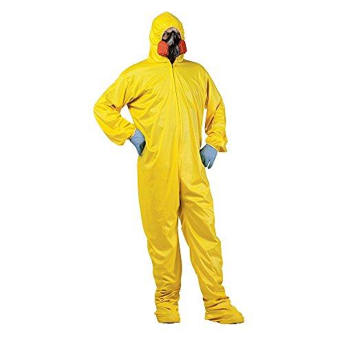 Jesse Pinkman Costume (Fun World Men's Hazmat Suit Adult Costume, Multi,)