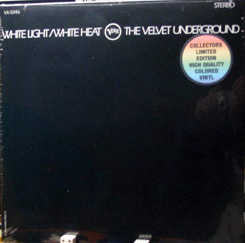 Velvet Underground - White Light / White Heat Limited Edition High Quality WHITE Colored Vinyl (The Velvet Underground White Light White Heat)