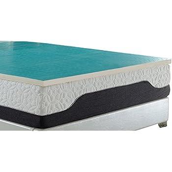 Amazon Com Ac Pacific Nidra Collection 2 Quot King Latex Foam