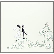 Edel-Gästebuch Motiv Hochzeit Arabesk