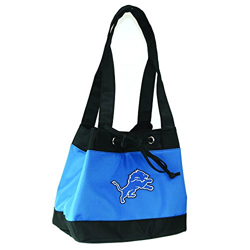 Lions Box Lunch (NFL Detroit Lions Womens Fashion Insulated Lunch Tote with Embroidered Logo by Little Earth)