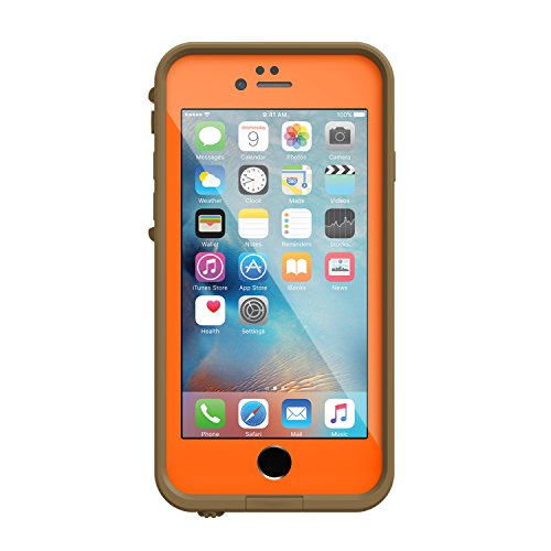 Amazon.com  Lifeproof 77-52528 FRE Waterproof Case for iPhone 6 6s  (4.7-Inch Version)- RT MAX 5 ORANGE (BLAZE ORANGE RT MAX5 HD)  Cell Phones    Accessories 9ce1eeacb