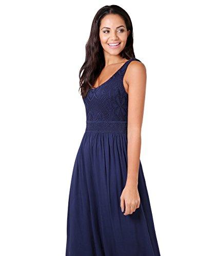 KRISP Navy Jersey Dress Cut Women Dress Evening Bust Summer Maxi Laser RrwnRqpx1v