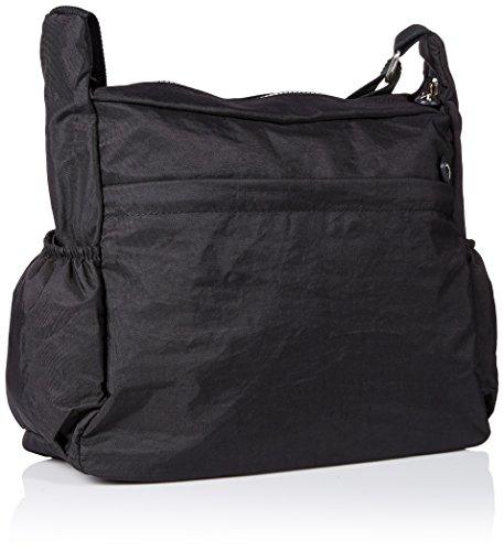 Casual Bag Nailon cremallera tianhengyi Negro bolsillos Ligero Messenger Bolsa hombro Mujer Bandolera de Bolso con qnU8xSpTw