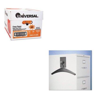KITQRT2015MUNV21200 - Value Kit - Quartet Magnetic Coat Hook w/Heavy-Duty Hanger (QRT2015M) and Universal Copy Paper (UNV21200)