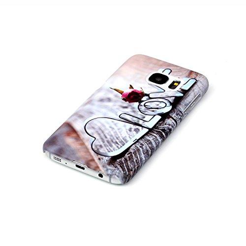 para Galaxy S6 Edge Plus Carcasa Sunroyal®[Anti-Scratch] Ultra Thin Fit PC Funda Cáscara Plástico Dura Concha Alta Calidad Sleeve Rígida Caso Parachoques Bumper Flexible Case Cover Shell Cubierta Caja A-10
