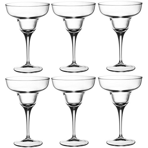 Bormioli Rocco Ypsilon Margarita Cocktail Glasses - 330ml (11.5oz) - Pack of 6 ()