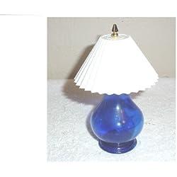 Avon Ming Blue Lamp Bottle (empty)