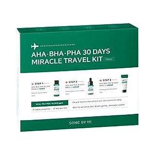 SOME BY MI Aha.Bha.Pha 30Days Travel Limited Edition 3 Pcs Set (Toner 30ml+Serum 10ml+Cream 20g)