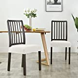 Milaran Dining Chair Seat Slipcover, Soft Stretch