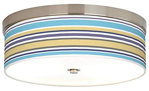 Laguna Stripes Giclee Energy Efficient Ceiling Light - Giclee Gallery