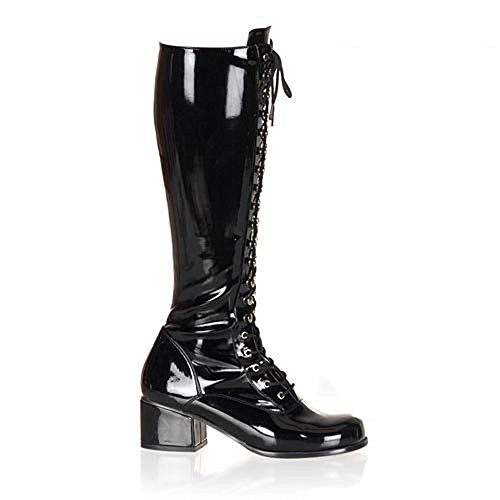 Heels-Perfect - Cerrado de material sintético mujer negro - Schwarz (Lack Schwarz)