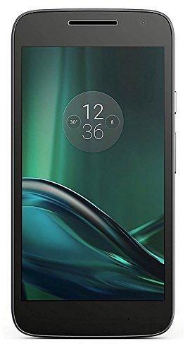 Motorola Moto G Play (4th Gen) XT1609 16GB Unlocked GSM Smartphone - Black (Unlocked Gsm Motorola Cell Phones)