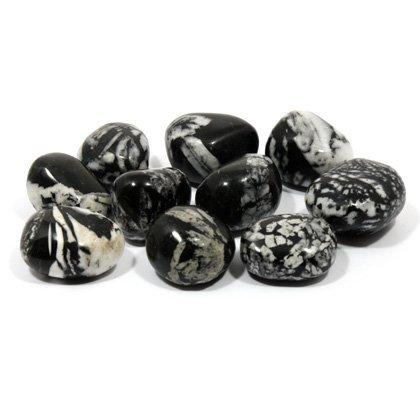 CrystalAge Flower Stone Tumble Stone (20-25mm) - Single Stone