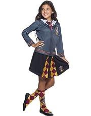 Harry Potter Costume Top, Gryffindor, Large