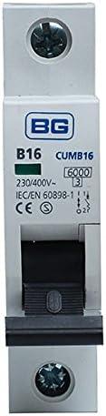 B16 MCB 6kA 230-400V CUMB16 BG BRITISH GENERAL
