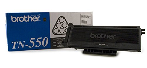 Brother TN550 Standard 3,500 Yield Toner Cartridge (Dcp Multifunction Printer 8060 Brother)