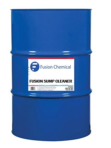 Fusion Sump Cleaner-Low-foam Machine Tool Sump and System Cleaner, 55 Gallons by Fusion Chemical