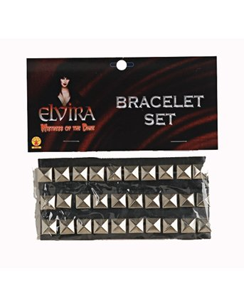 Elvira Metal Studded Bracelet Set