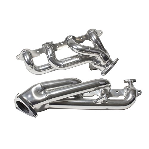 BBK 40050 1-3/4″ Shorty Tuned Length Performance Exhaust Headers for GM Truck And SUV 4.8, 5.3L – Polished Silver Ceramic Finish