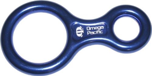 Omega Pacific Figure 8 Rappel Device, Outdoor Stuffs