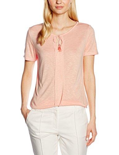 Comma, Camiseta para Mujer Orange (apricot 2014)
