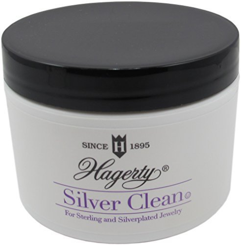 Hagerty Luxury Silver Clean for Sterling and Silverplated Jewelry With Wide Mouth Jar ()