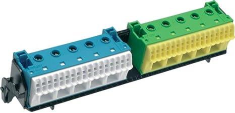 Avec terminaux 2x22 PE//N QuickConnect Support pour v/élo Hager FZ383