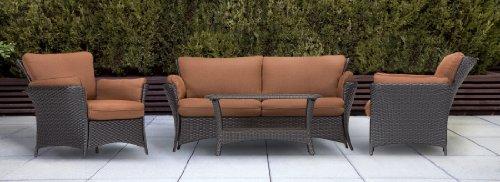 Hanover Strathmere Allure Series 4-Piece Lounge Set STRATHALLURE4PC